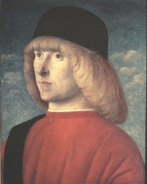 Venice, The Republic of Venice Giovanni Bellini, c1485 - 90: Portrait of a Young Senator
