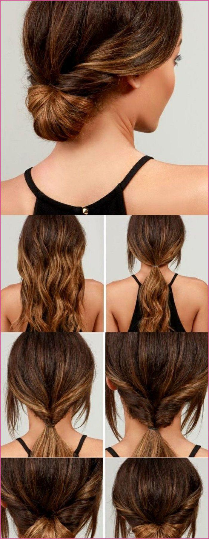 Einfache Rockige Frisuren  Frisuren lange haare selber machen