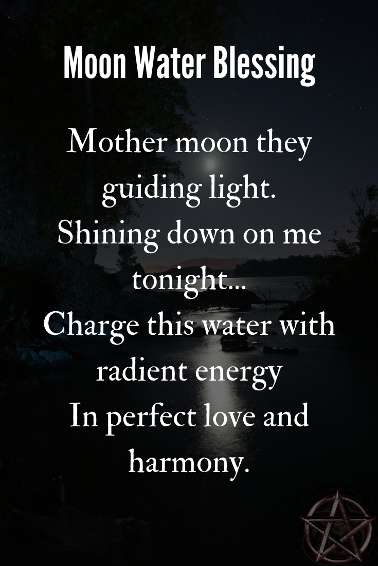 Wiccan Moon Water
