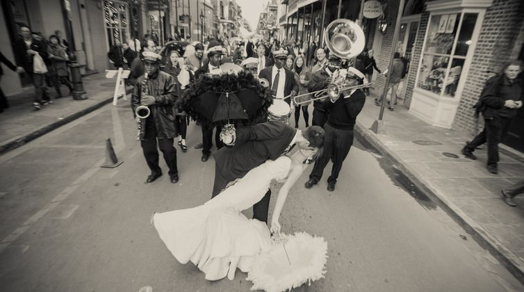 Elopements We Can T Talk About New Orleans Wedding Traditions