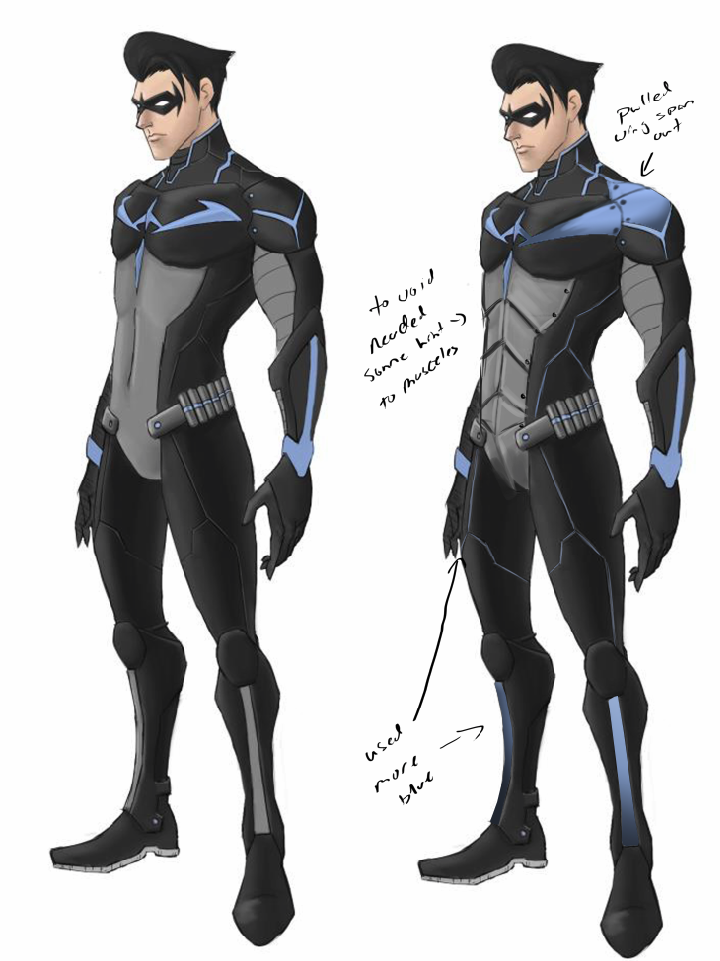 Image Gallery nightwing beyond suit
