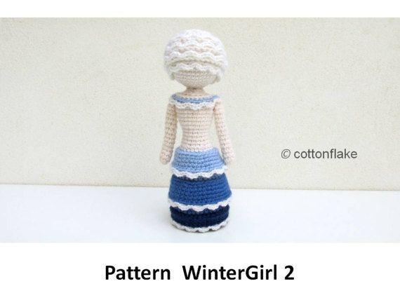 Winter Doll Crochet Pattern - No.1 Amigurumi Doll Patterns By ... | 428x570