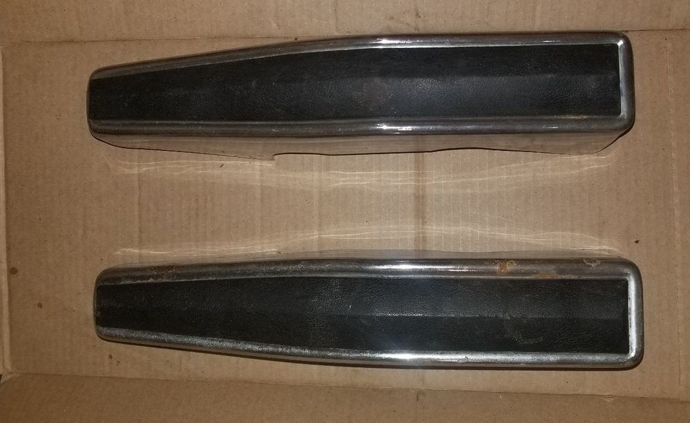 80 86 Ford Truck F 150 250 350 Bronco Bumper Guard Chrome Bumperette Pair Oem Ebay Ford Trucks Ford Trucks F150 Classic Ford Trucks