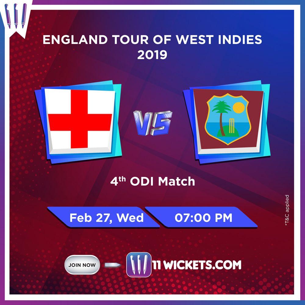 England Tour Of WestIndies League gaming, Fantasy league