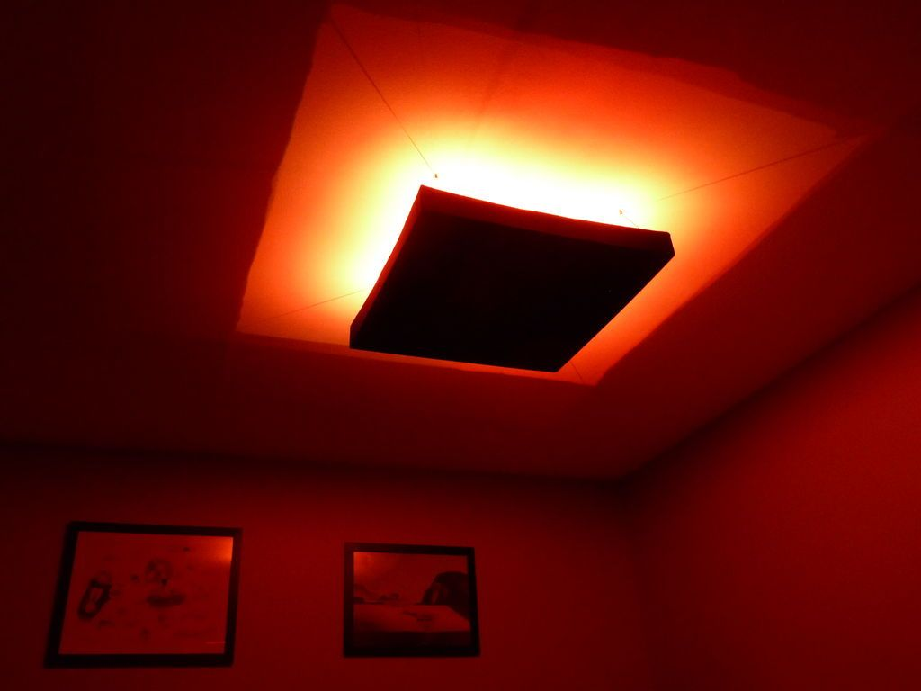 huge discount 131f2 5e6d0 RGB LED Ceiling Mood Light With Hacked IR Remote Control ...