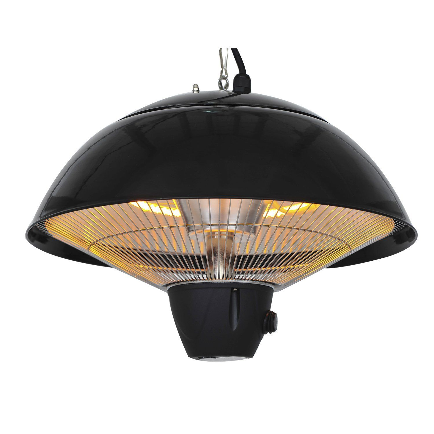 Outsunny 1500 W Outdoor Ceiling Mounted Aluminium Halogen