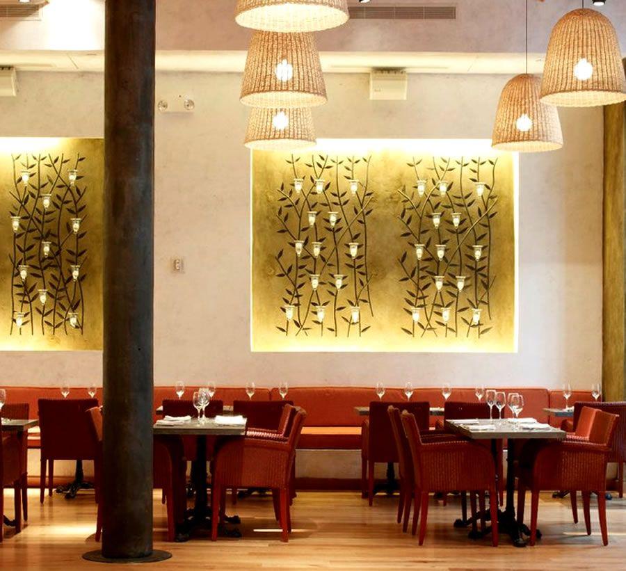 Luxury mediterranean fine dining restaurant interior Restaurant interior design pictures