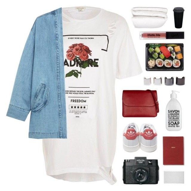 """SMTH FROM MY WISHLIST"" by emmas-fashion-diary ❤ liked on Polyvore featuring River Island, Steve J & Yoni P, adidas, Marni, La Compagnie de Provence, Holga, Luv Aj, Le Chateau, Monica Rich Kosann and Selfridges"