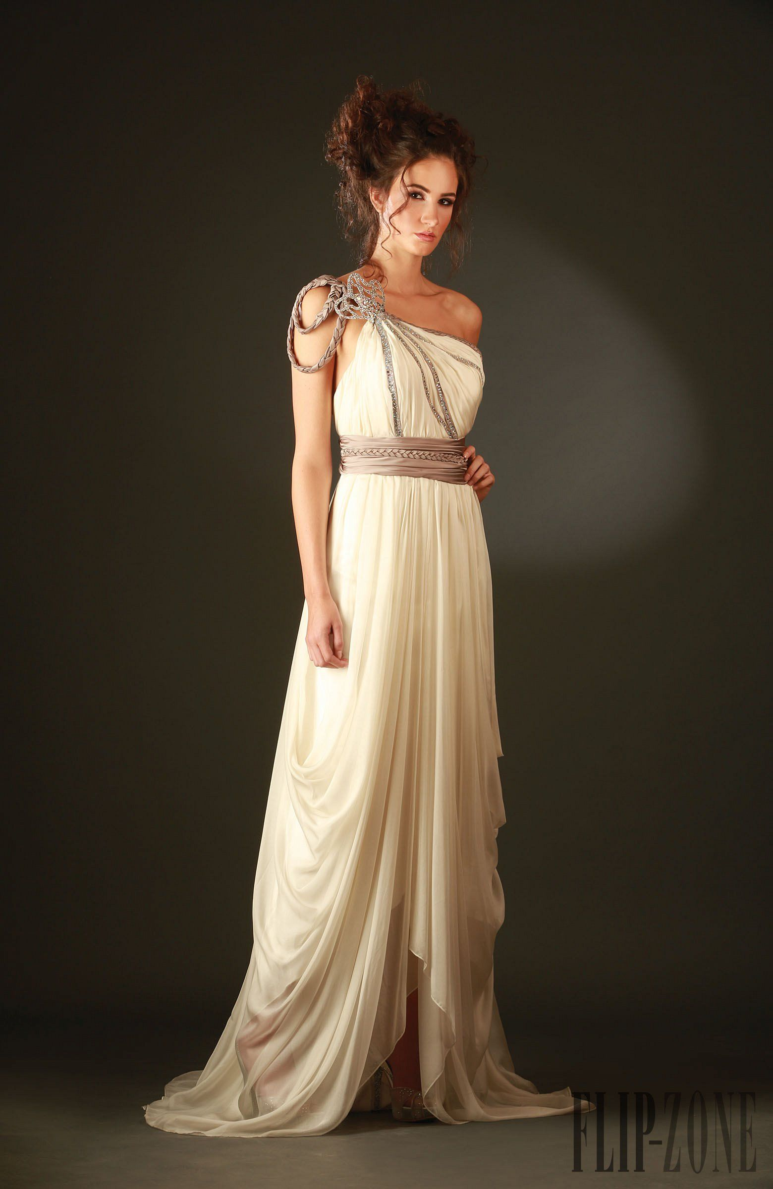 Hanna Touma Goddess costume, Greek goddess costume