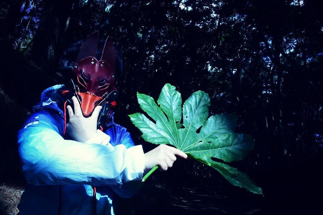 50 likes 1 comments あしゅ らん 棚 橋 asyuran27 on instagram 天狗ごっこ お面ポートレート 大島 伊豆大島 狐面 foxmask nikon nikond550 fox mask fictional characters superhero
