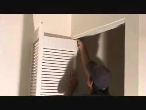How To Remove A Bi Fold Door Unit Youtube With Images Wood Doors Interior Interior Doors For Sale Doors Interior