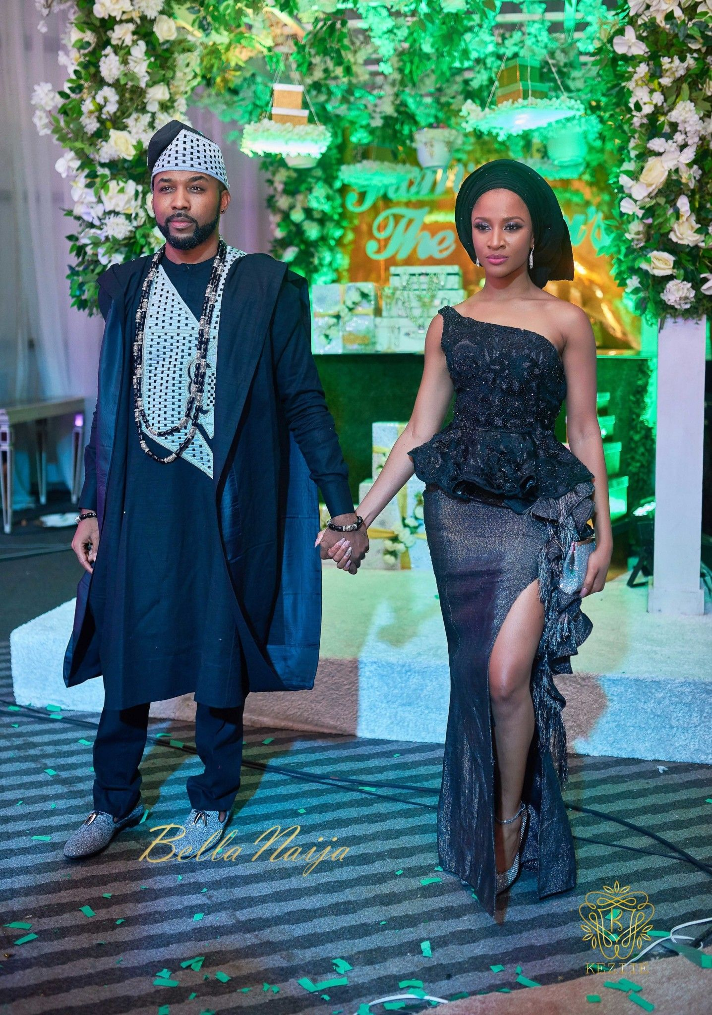 We love Banky and Adesua\'s love! Adesua Etomi & Banky W celebrated ...