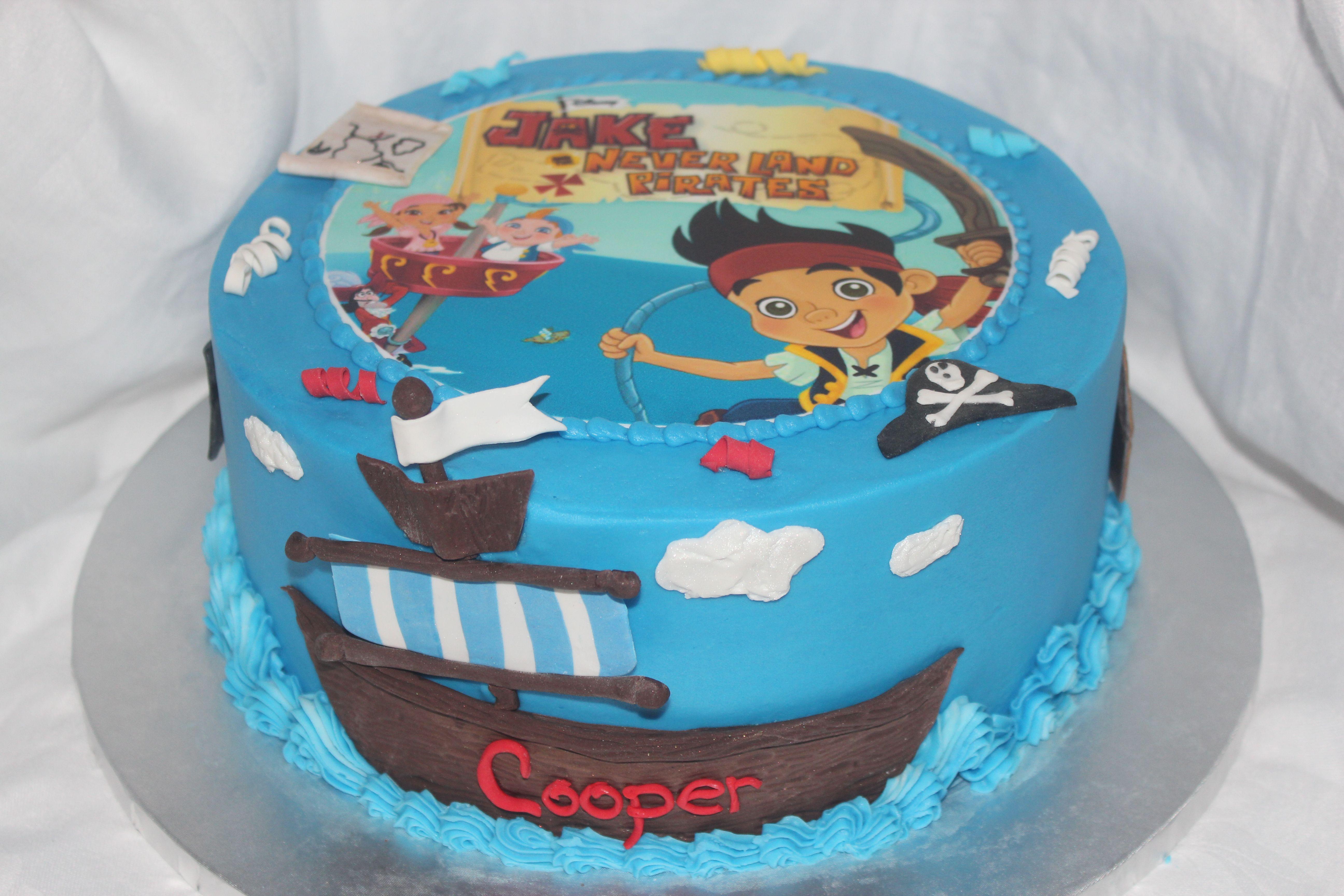 фото тортиков джек и пираты коммуникации