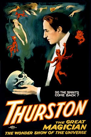 Vintage Poster for Famous Magician THURSTON