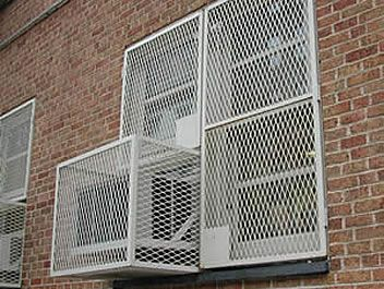 Expanded Metal Security Fencing Adds Peace Of Mind Air Conditioner Cover Security Fence Expanded Metal