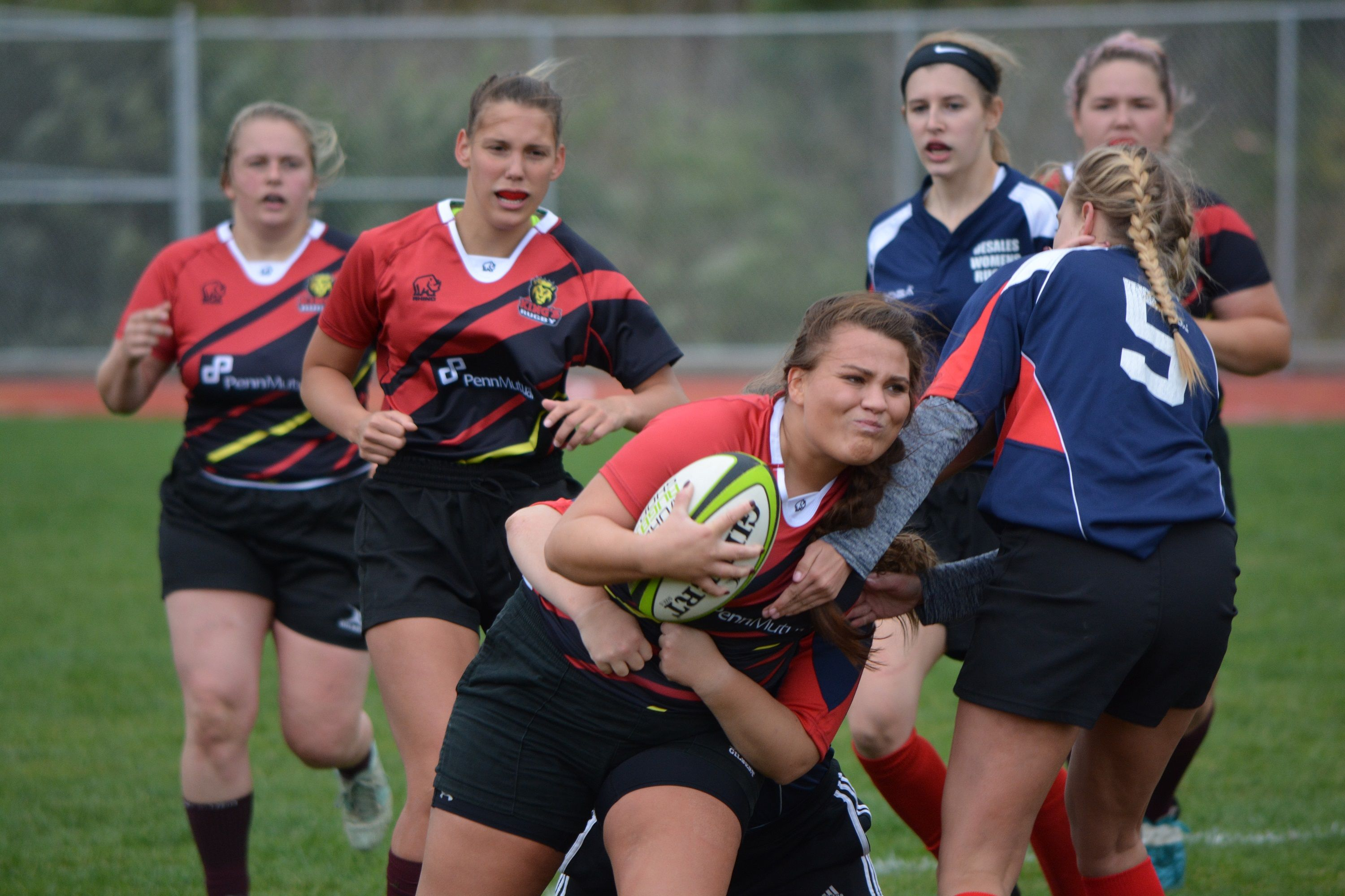 King S College Women Go Into Contact Against Desales King S College Women Womens Rugby