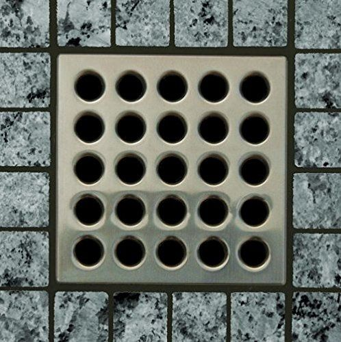 Ebbe E4404 Square Shower Drain Grate Brushed Nickel Ebbe Http
