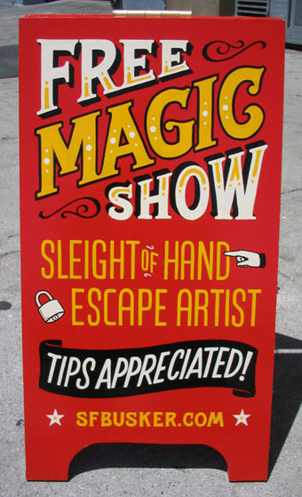 hand lettered signs type pinterest signs sidewalk signs and magic show