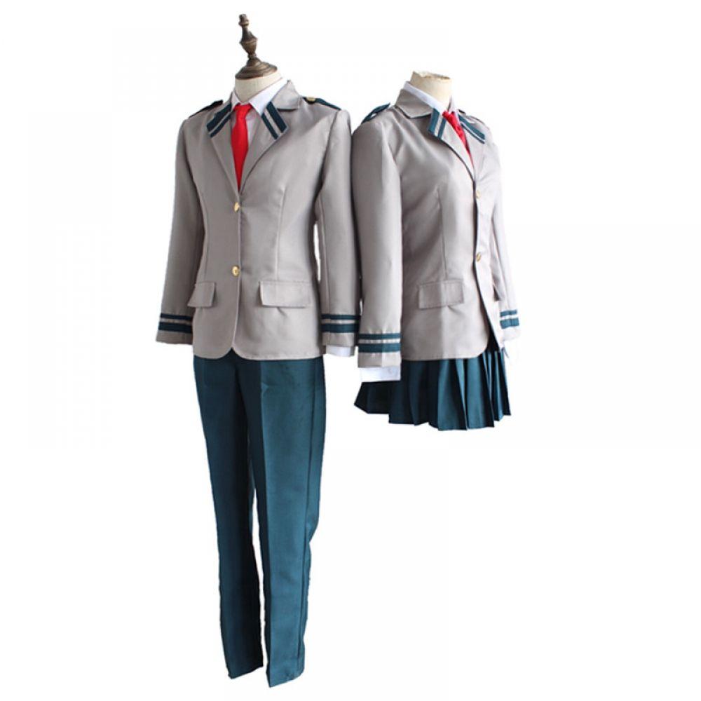 My Hero Academia School Uniform Cosplay Costumes Male Female