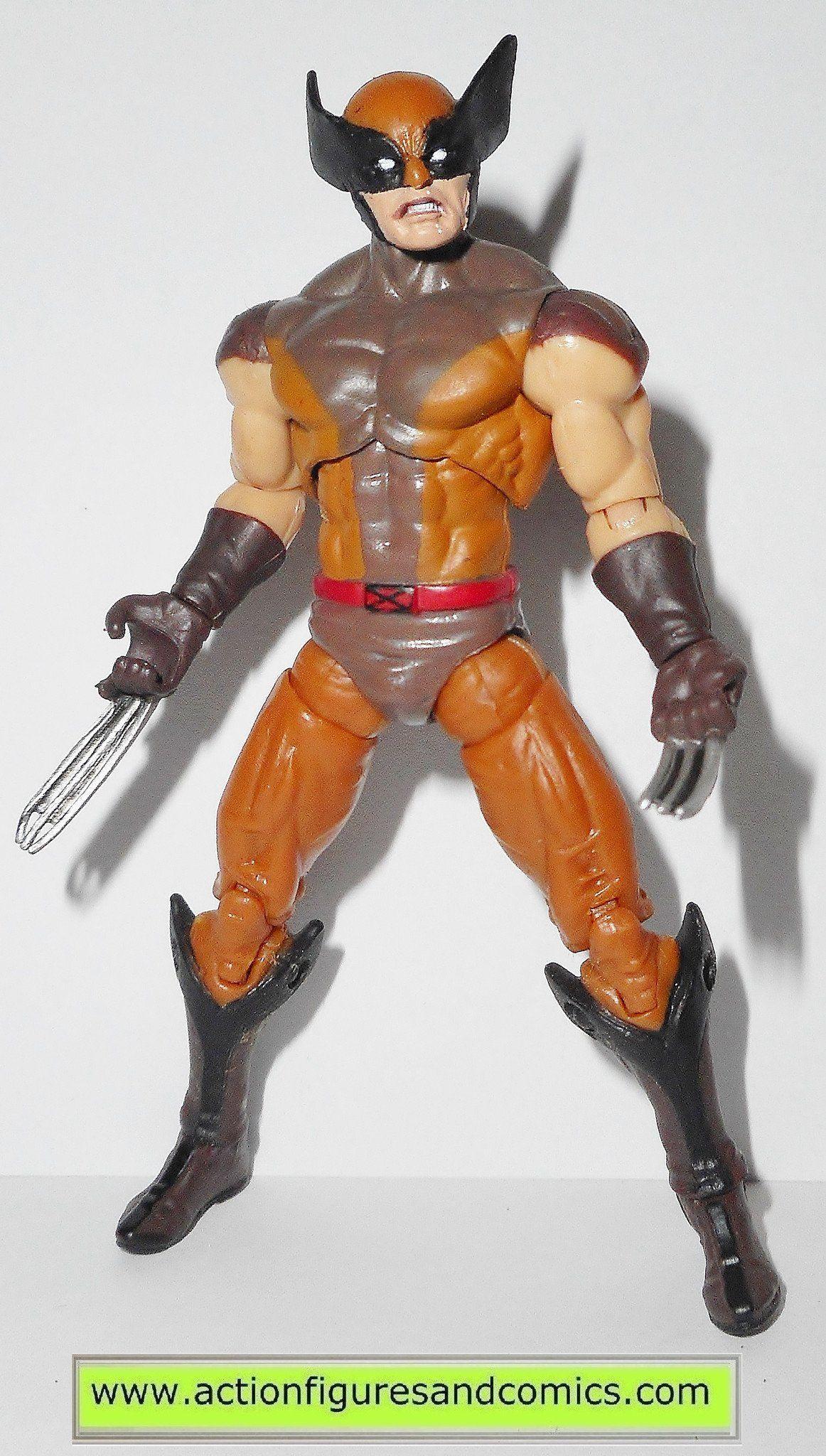Marvel Universe Wolverine X Men Origins Movie Comic Series Brown Wolverine X Men Marvel