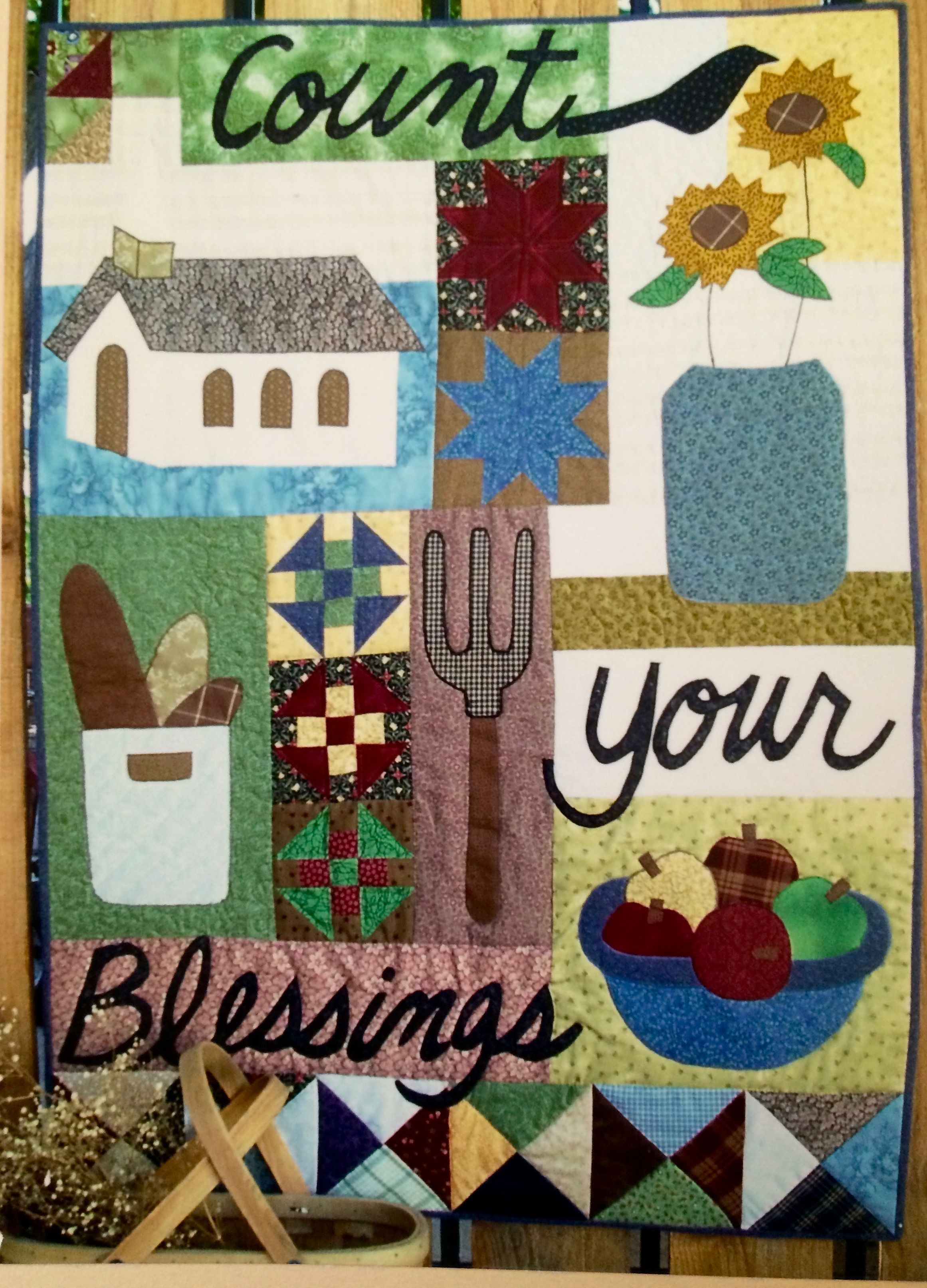 Count Your Blessings country quilt pattern - an original design by ... : country quilts patterns - Adamdwight.com