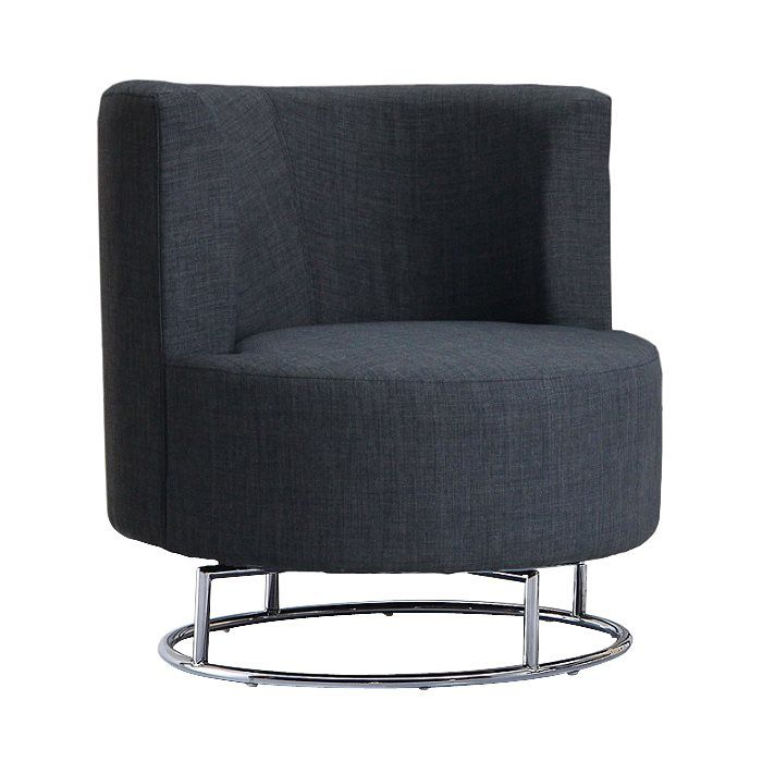 Home Gear 1700 Kenya Swivel Accent Chair Lowe S Canada
