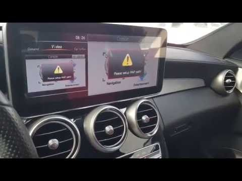 Mercedes W205 multimedia 12 inch LCD Upgrade | Mercedes benz