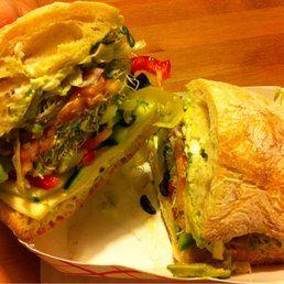 Compagno S Market Deli Monterey Ca United States Whole Veggie Sandwich Veggie Sandwich Food Deli