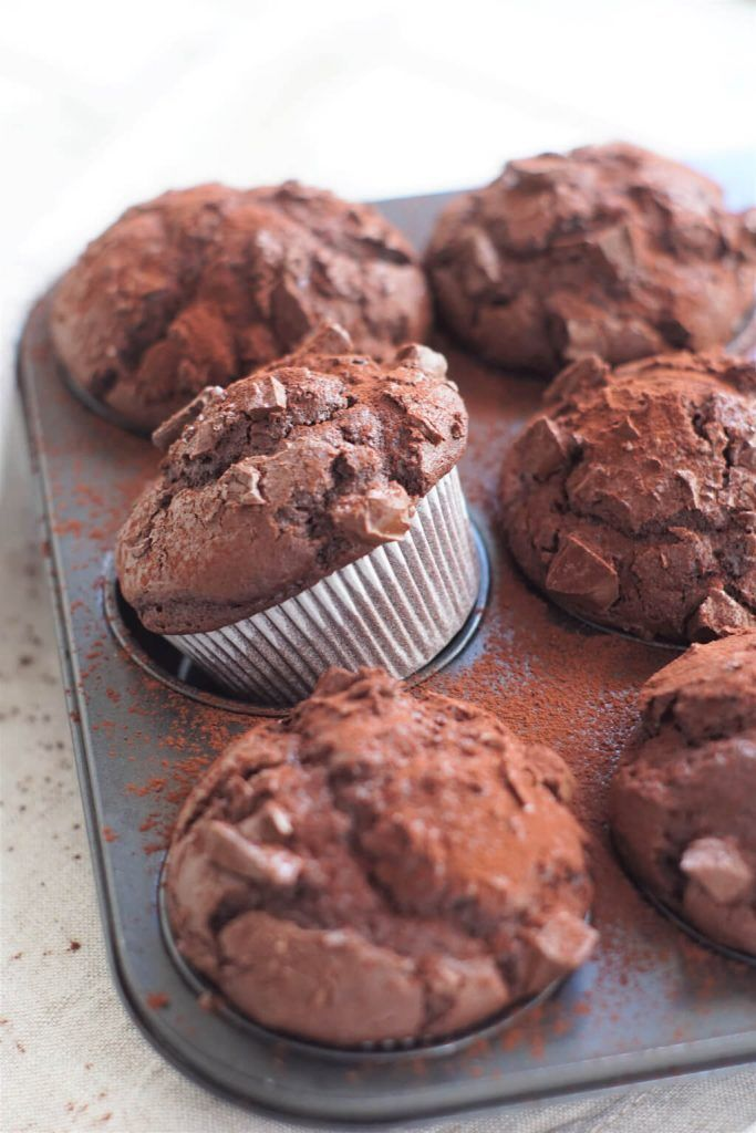 Photo of Juicy chocolate muffins – chocolate cakes for young and old »affektblog.de