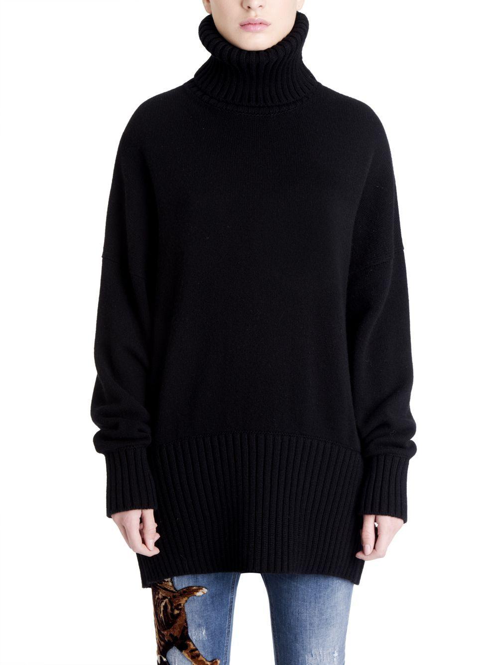 afc615f9a Dolce   Gabbana Oversized Cashmere Turtleneck Sweater