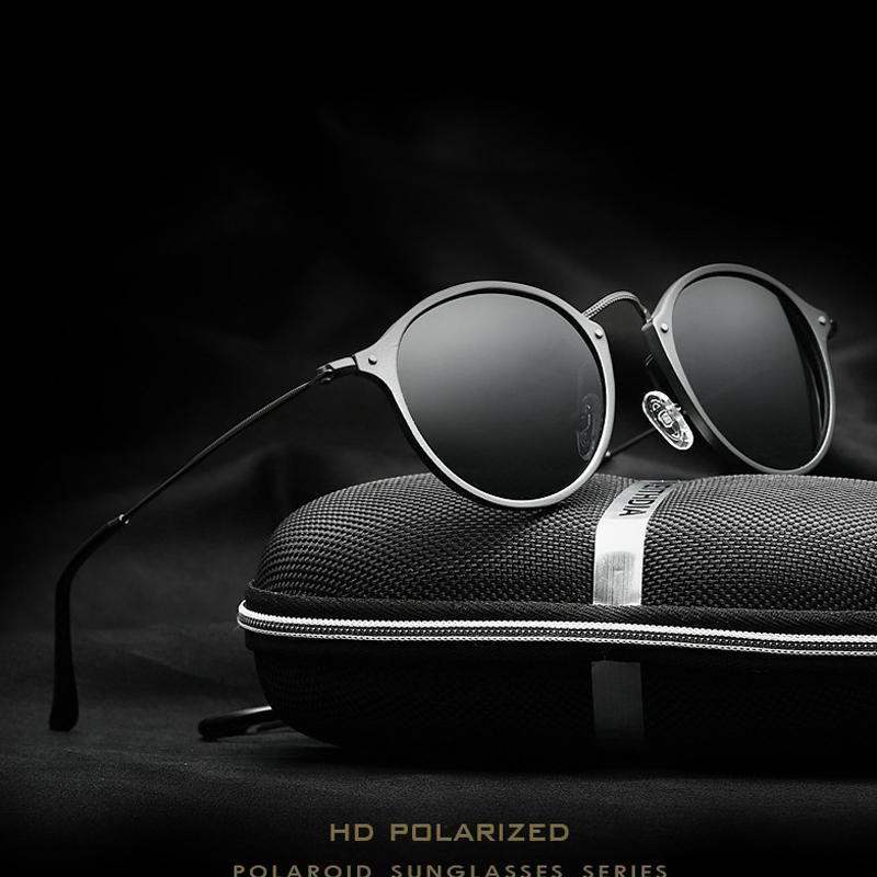 06bb41727458 Online shopping for Accessories with free worldwide shipping. VEITHDIA  Round Elegant Men s Sunglasses Driving Sunglasses