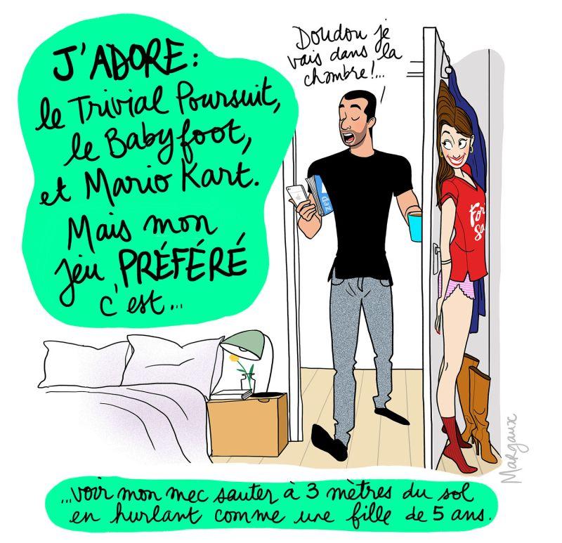 Gameuse bd Dessin humour, Illustration drôle et Humour