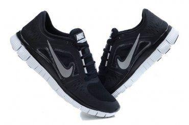 92bff4bb106 Nike Free Run 3 Womens Black 2013 Running Shoes
