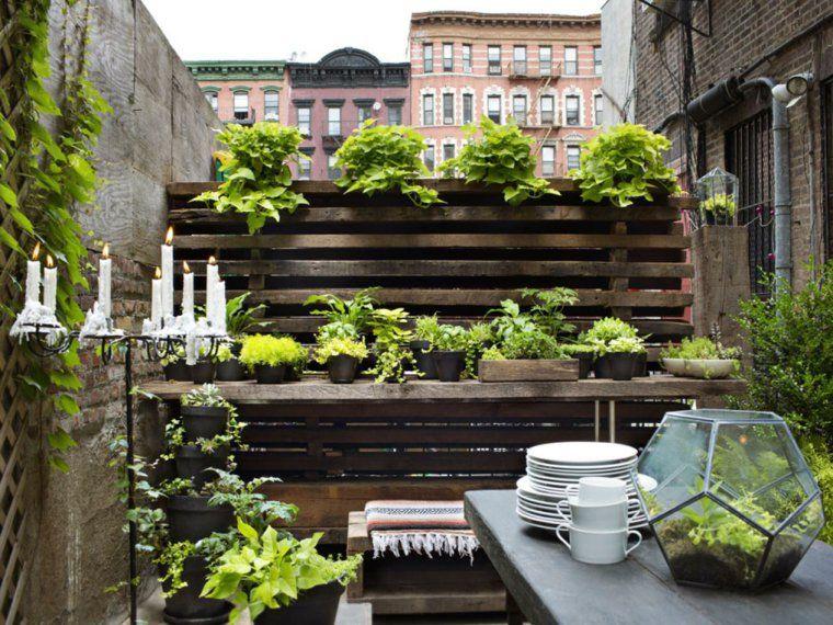 Piccolo Giardino Sul Balcone : Organizzare un orto sul balcone! ecco 20 idee da cui trarre