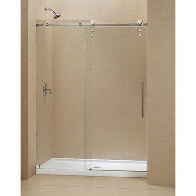 Shower Base 54 X 30 Frameless Shower Doors Sliding Shower Door