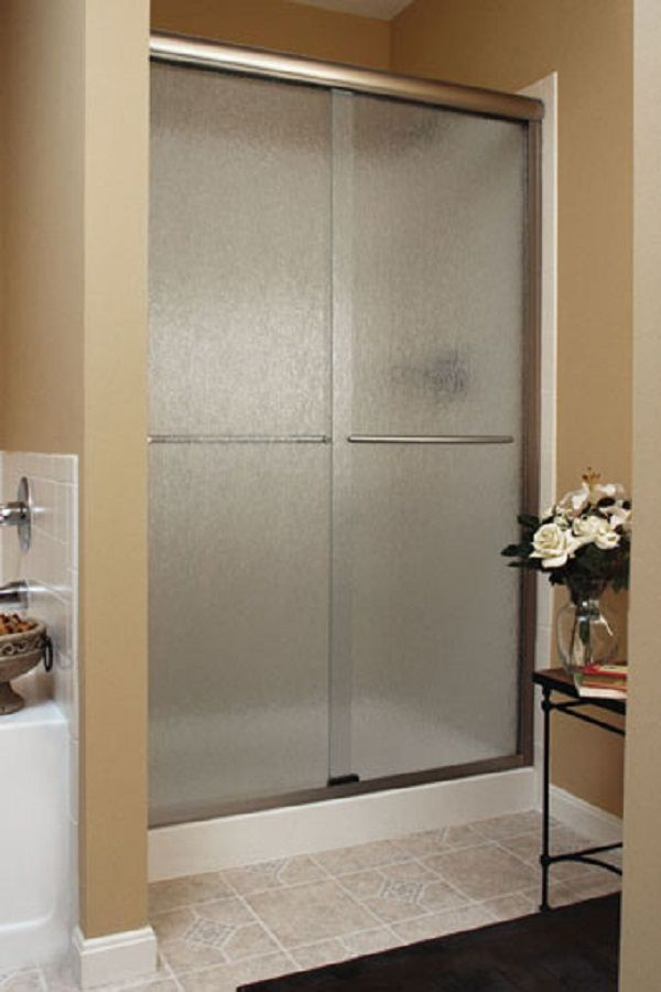 Clean Sliding Door With Brushed Nickel Hardware Apart Of The Euro