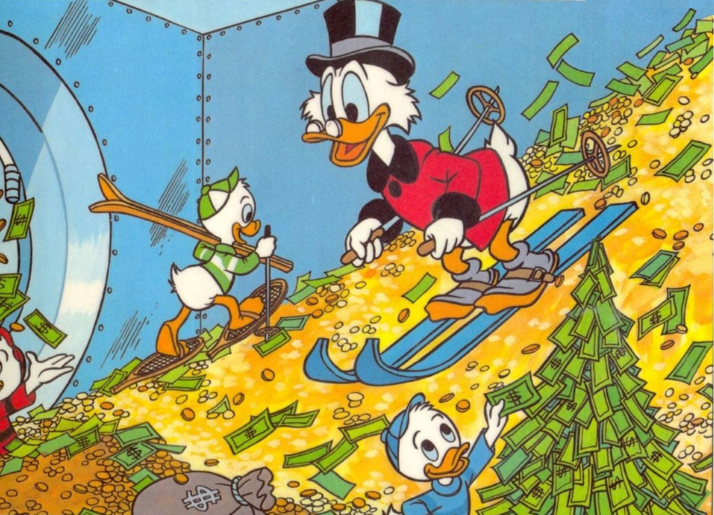 Scrooge Mcduck 1420x1023 All That Is Disney The Wonderful World Of Disney Pinterest