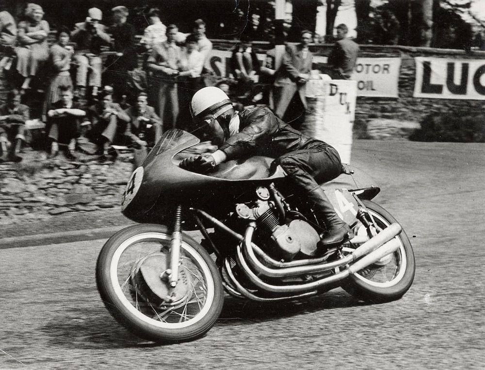 John Surtees at the Isle of Man TT
