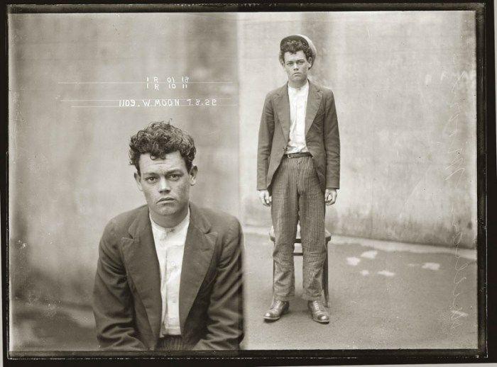 Sydney Police Photographs 1912 1948 Vintage Portraits Mug Shots City Of Shadows