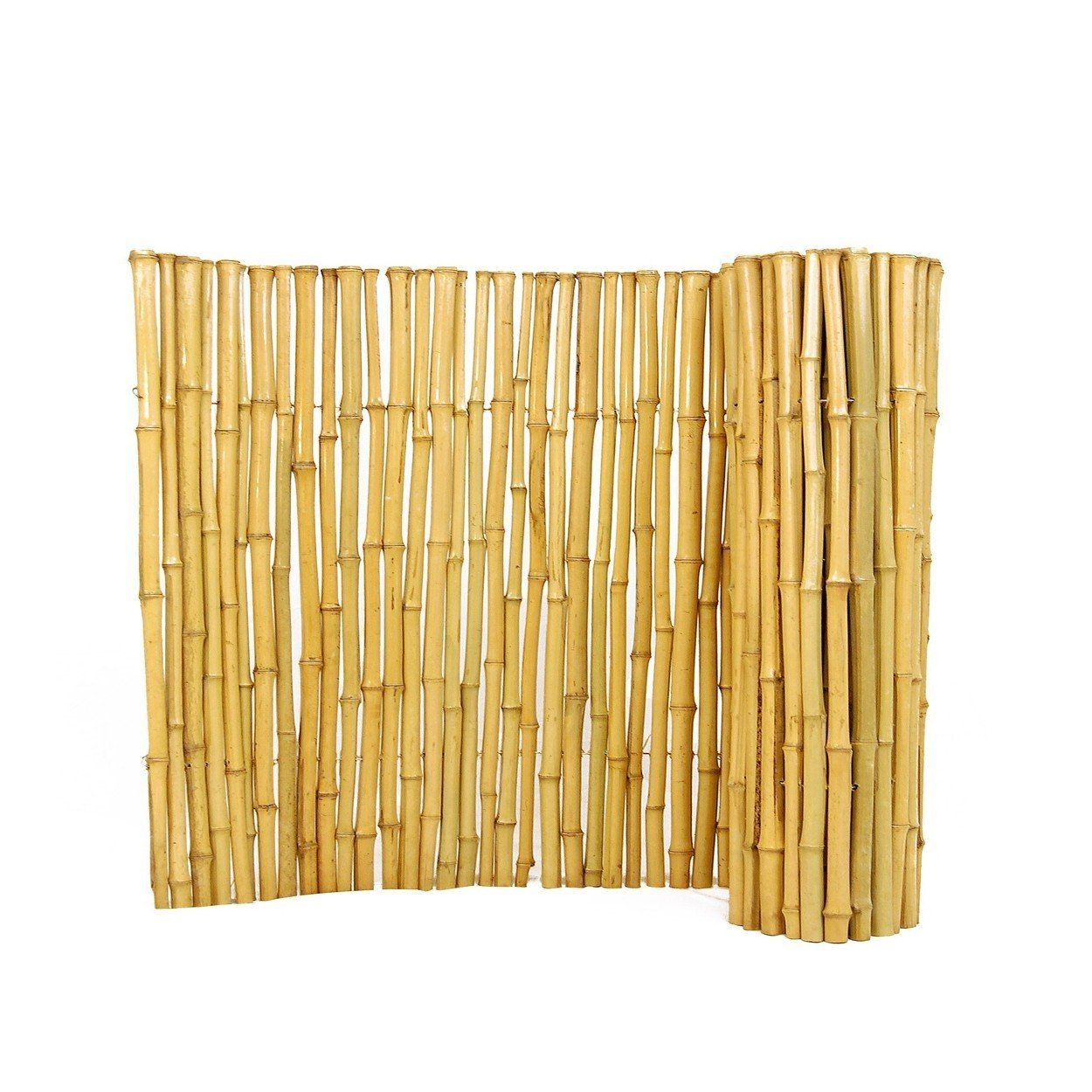 Eco Friendly Natural Bamboo Fencing 1 X 2 X 8 In 2020 Bamboo Fence Bamboo Garden Fences Fence