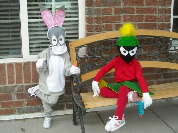 Kids Marvin The Martian Looney Toons Costume