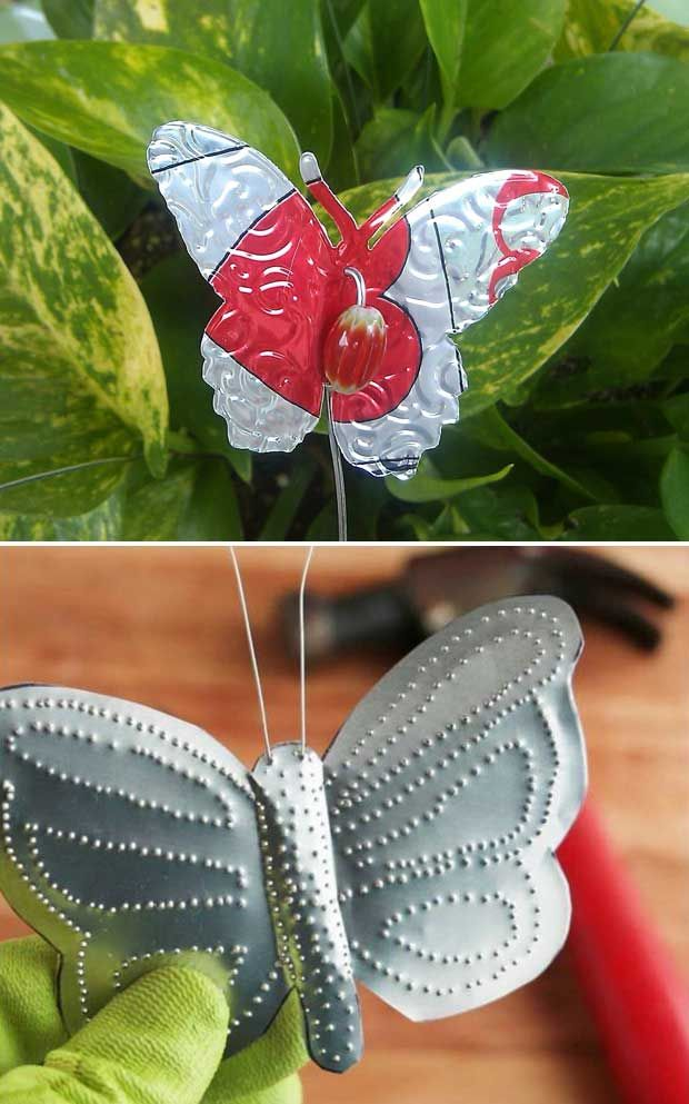 Truly Cool and Low-Budget Garden Decorations Inspired by Butterfly #gartenrecycling