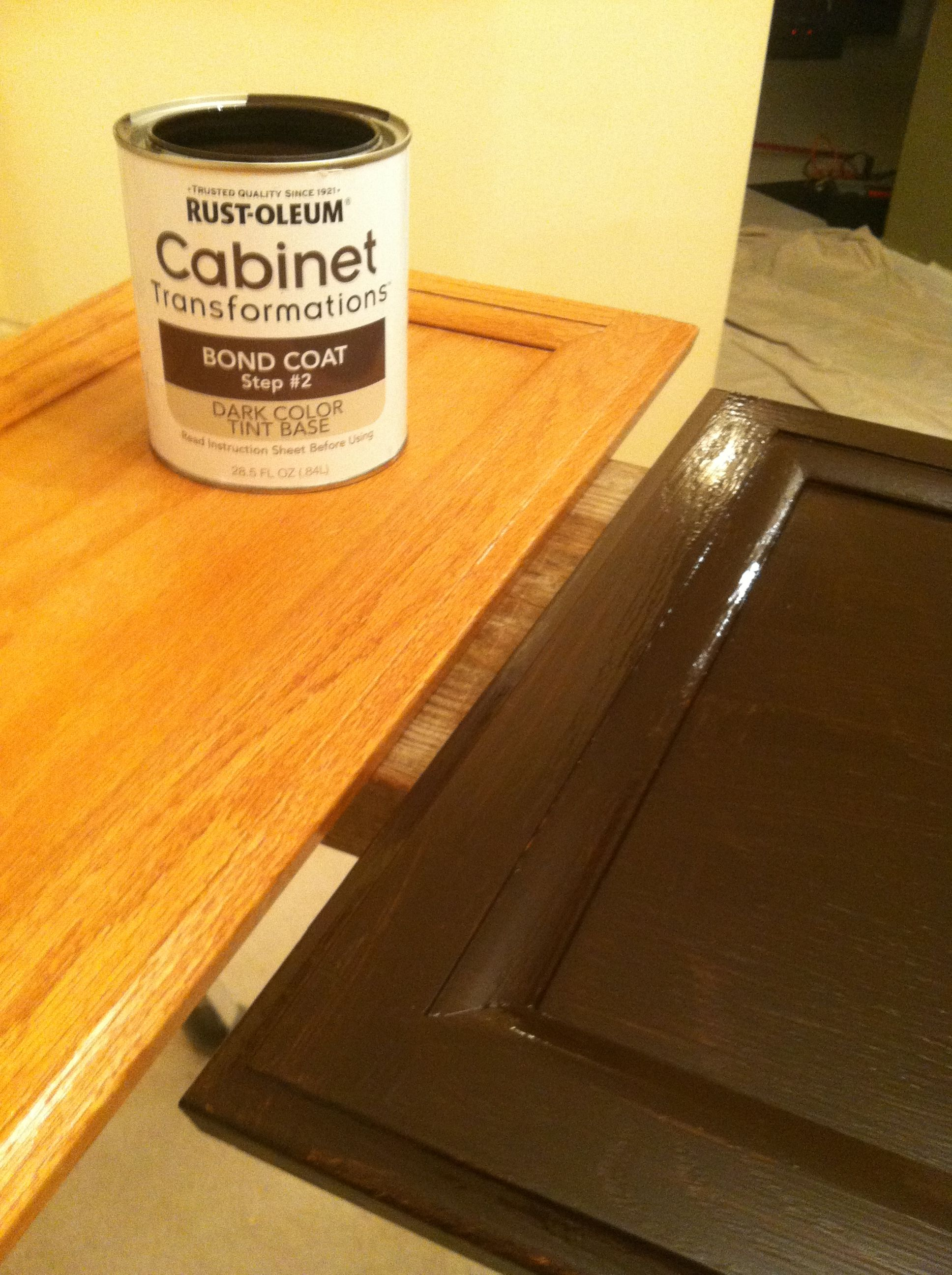 Rustoleum Cabinet Refinishing Kit. This is a magic ...