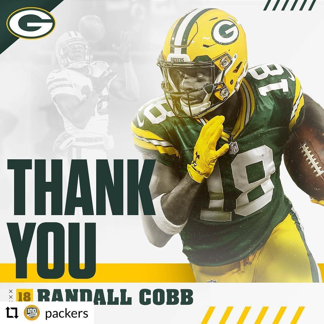 Thank You Randall Randall Cobb Green Bay Packers Fans Green Bay Packers