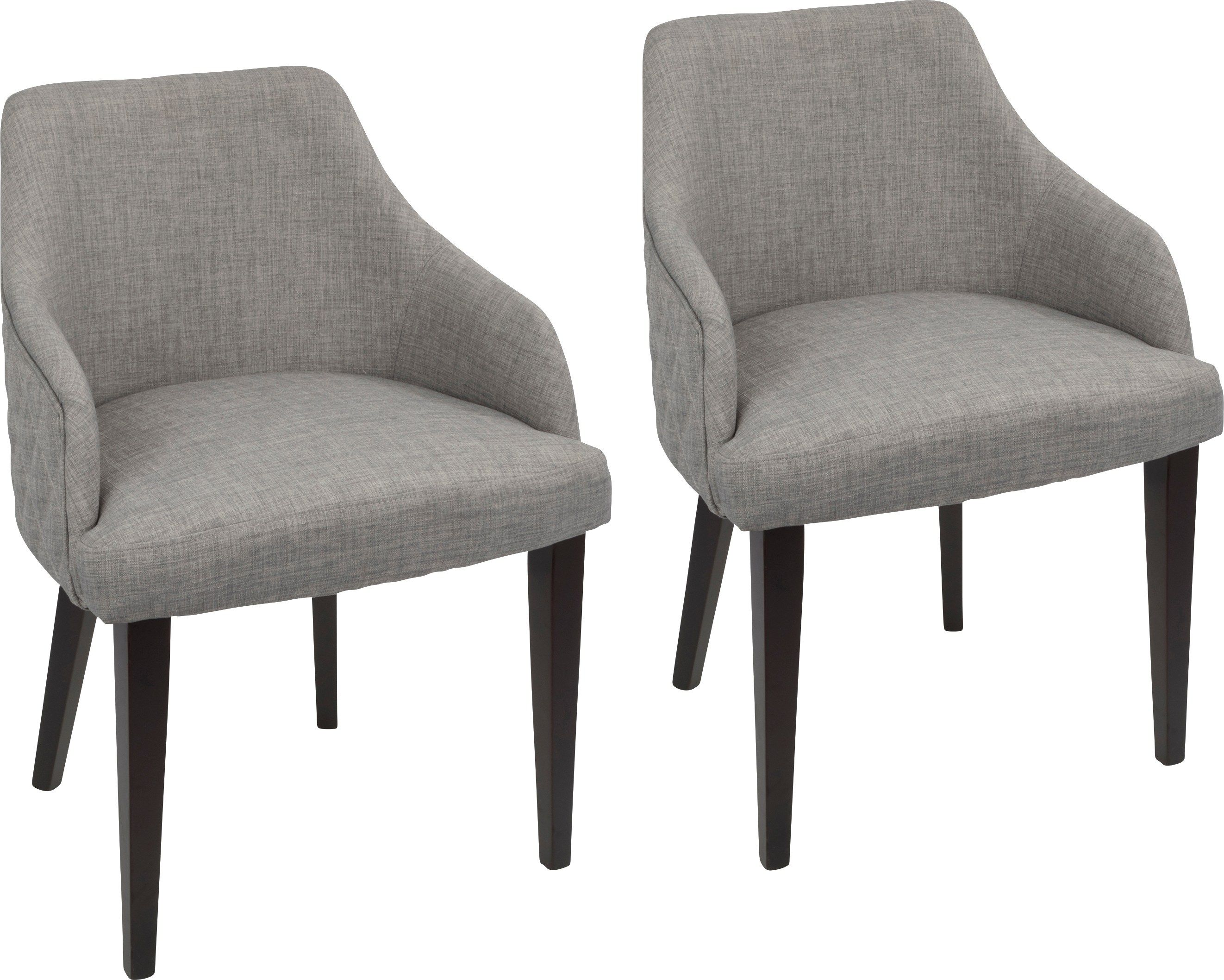 Fenley Gray Dining Chair Set Of 2 319 99 23w X 22 75d X 31h