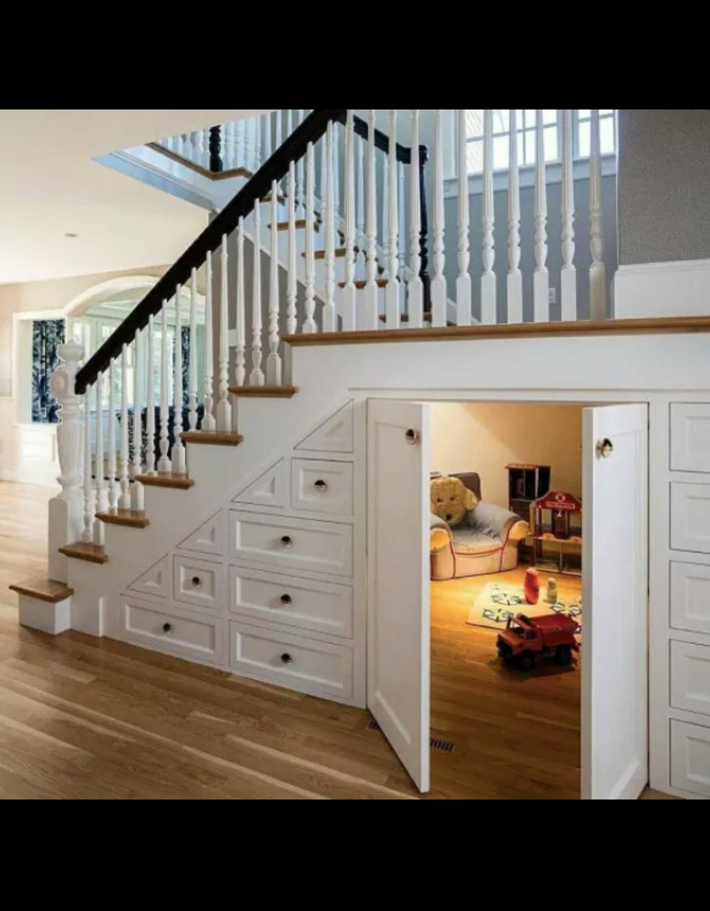 Hidden Secret Room Under The Stairs Secret Rooms Home House Design