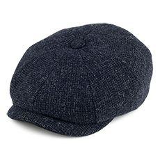 Stetson Hats Hatteras Wool Newsboy Cap - Blue   Clothing   Newsboy ... e88a426f46e