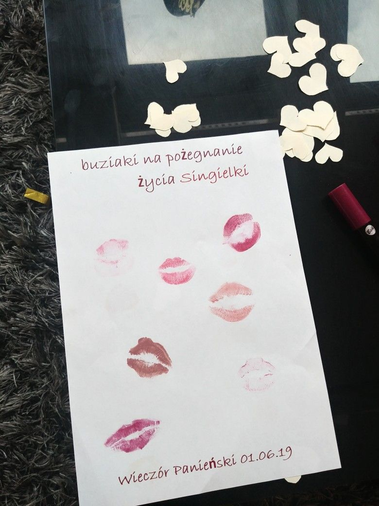 Buziaki Na Pozegnacie Zycia Singielki Prezent Wieczor Panienski