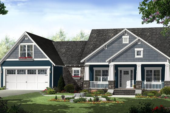 Country Style House Plan 3 Beds 2 Baths 1637 Sq Ft Plan 21 459 In 2020 Craftsman House Plans Craftsman Style House Plans House Plan Gallery