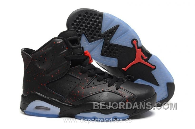 nike air jordan 6 retro black infrared gsm